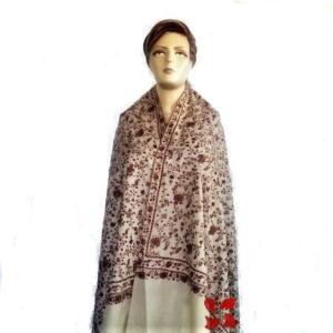 Jalldar Pashmina Shawl White