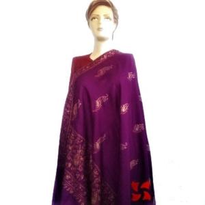 Botidar Palldar Pashmina Shawl Purple