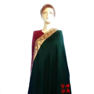 Dordar Pashmina Shawl Green