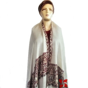 Palldar Pashmina Shawl Light Aksi